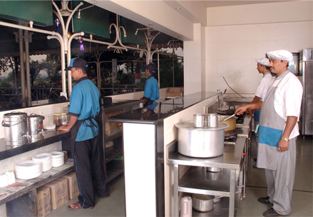 Sai Food Court - Kitchen